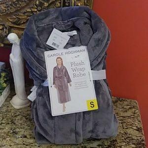 Carol Hochman Plush Wrap Robe